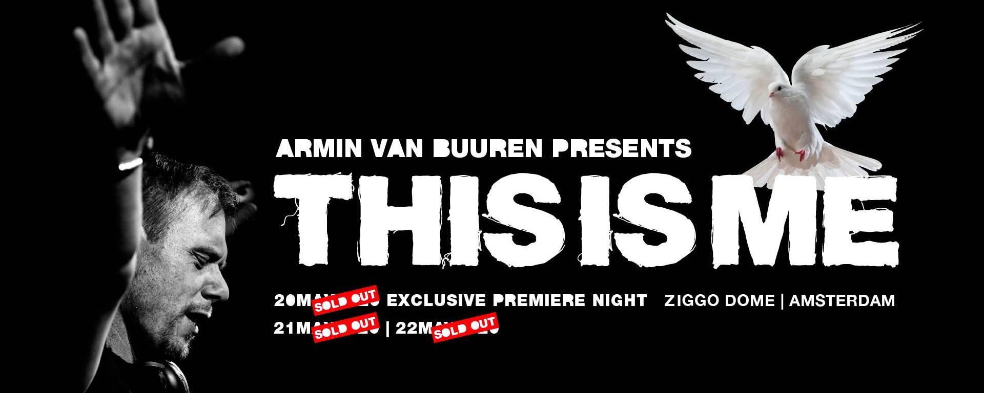 """Тур на шоу Armin van Buuren presents """"This is Me"""""""