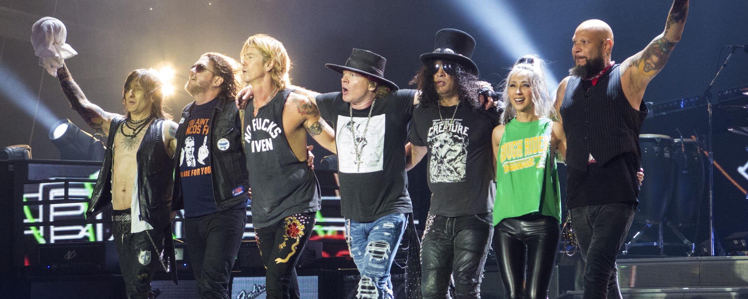 Тур на концерт Guns N' Roses в Прагу